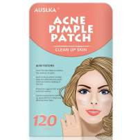 Acne Pimple Master Patch, Acne Spot Treatment, Hydrocolloid Acne Dots for Face(120 Patches), Tea Tree Oil, Facial Stickers, Zit Patches