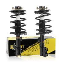 OREDY Front Struts 2PCS Driver and Passenger Side Front Shocks Struts Complete Struts Assembly Shock Struts Coil Spring Assembly Kit 271427 271426 11593 11594 SR4164 SR4163