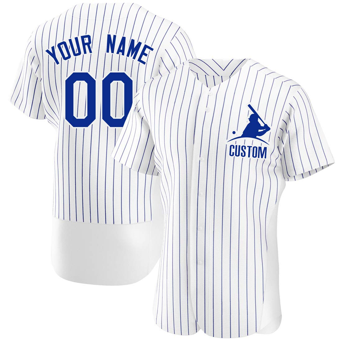 KXK Custom Stitched Baseball Jersey Personalized Button Down Baseball T Shirt with Team Name &Numbers for Men/Women/Boys
