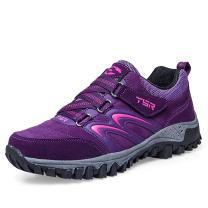 gracosy Womens Mens Hiking Shoes, Waterproof Skid-Proof Lightweight Sneaker for Running Trekking Outdoor Training