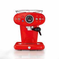 illy X1 Espresso Machine, 13 x 9.8 x 10.60, Red