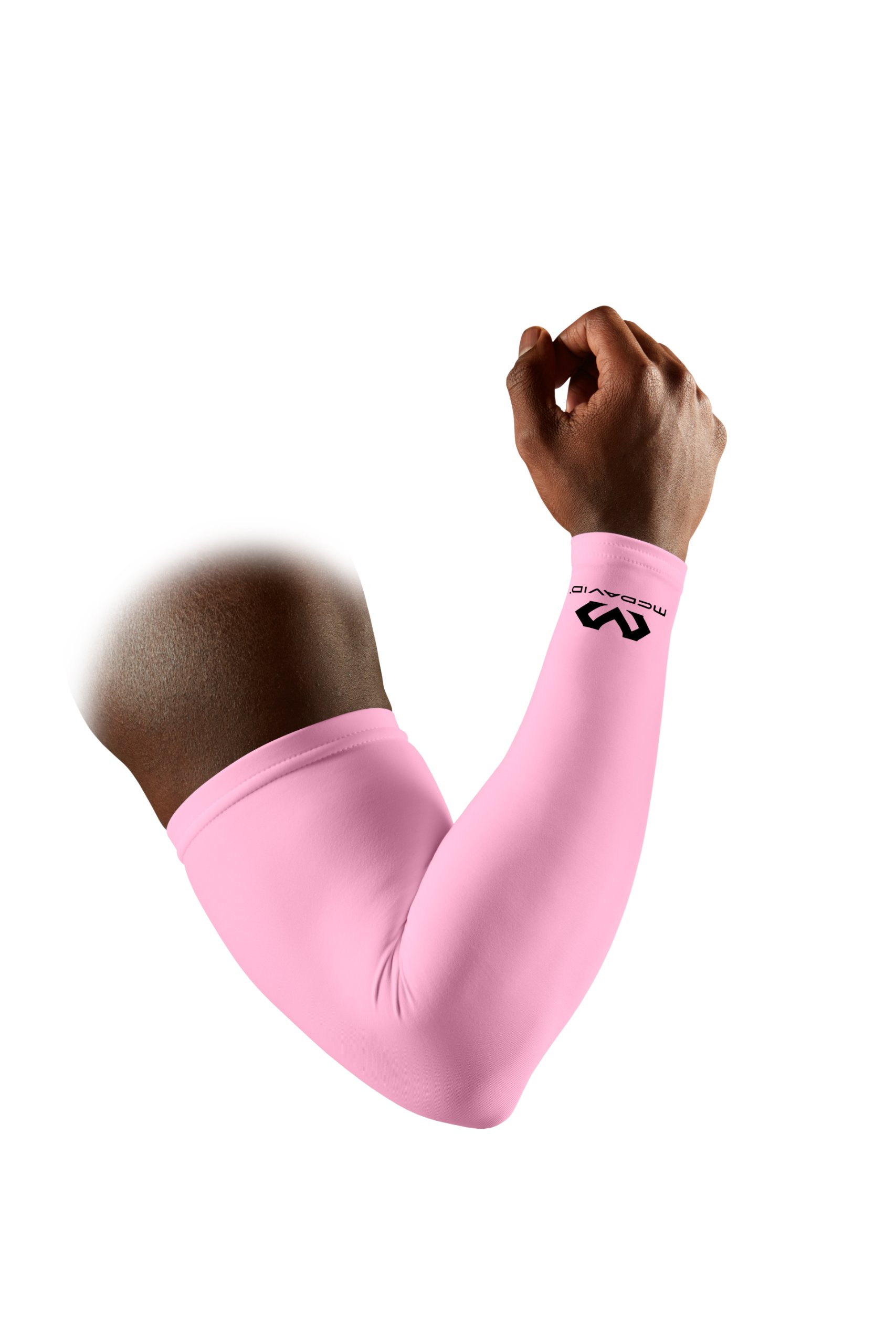 McDavid Compression Arm Sleeve, 50+ UV Skin Protection, Cooling Arm Sleeve for Sports, Running, Basketball, Baseball, Football