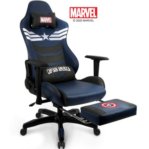 Leather Gaming Chair Desk Office Computer Racing Chairs Recliner Gamer Swivel