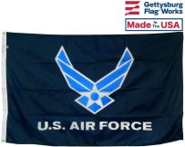 3x5' U.S. Air Force Wings All-Weather Nylon Outdoor Flag - Proudly Made in The USA