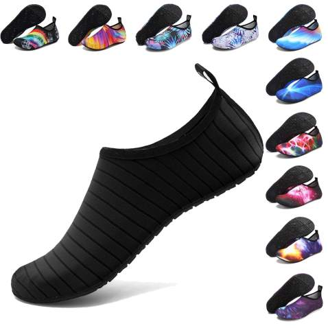 Mens Womens Water Sports Shoes Yoga Socks Breathable Swim Shoes Barefoot Quick-Dry Beach Snorkeling Socks