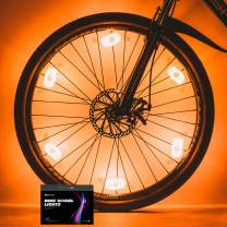 Sumree Bike Spoke Lights Bike Wheel Lights for Cycling Bicycle Decoration 6 Pack - Batteries Included and 6 Extra Batteries