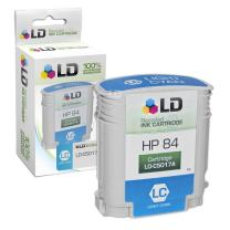 LD Remanufactured Ink Cartridge Replacement for HP 84 C5017A (Light Cyan)