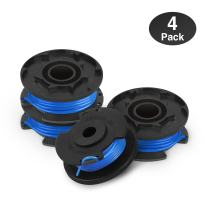 Eventronic Line String Trimmer Replacement Spool, 0.065-Inch Autofeed Spools Compatible with Ryobi 18V, 24V, and 40V Cordless Trimmers (Pack of 4)