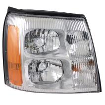 Aftermarket Replacement Passenger HID Headlight Lens Compatible with 2003 2004 2005 2006 Escalade & ESV EXT Pickup Truck 19208223