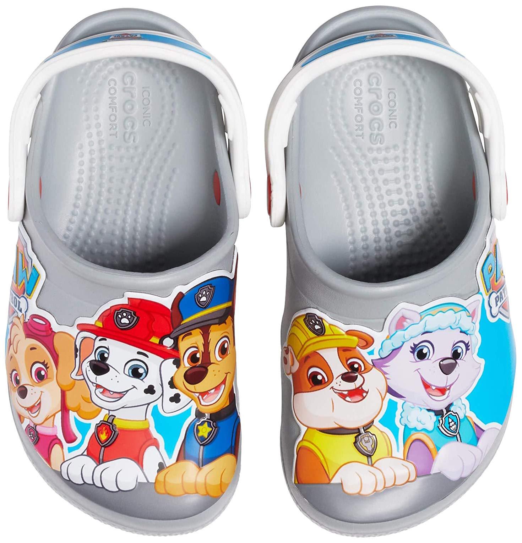 Crocs Kids Paw Patrol Clog Slip on Water Shoe for Toddlers