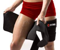 Fitru Premium Thigh Trimmers for Men & Women - Body Wrap Sauna Waist Trainer for Your Legs