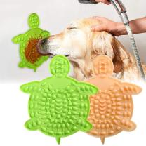 Dog Lick Mat for Dogs 2Pcs, Dog Lick Pad with Strong Suctions to Wall, Dog Licking Mat to Slow Feed Dog Bowls, Dog Puzzle Toys for Pet Bathing, Calming Mat for Dog Boredom Relief