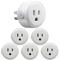 GMYLE Smart Plug Mini Work with Alexa (Pack of 6)