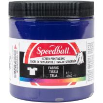 Speedball Fabric Screen Printing Ink, 8-Ounce, Violet