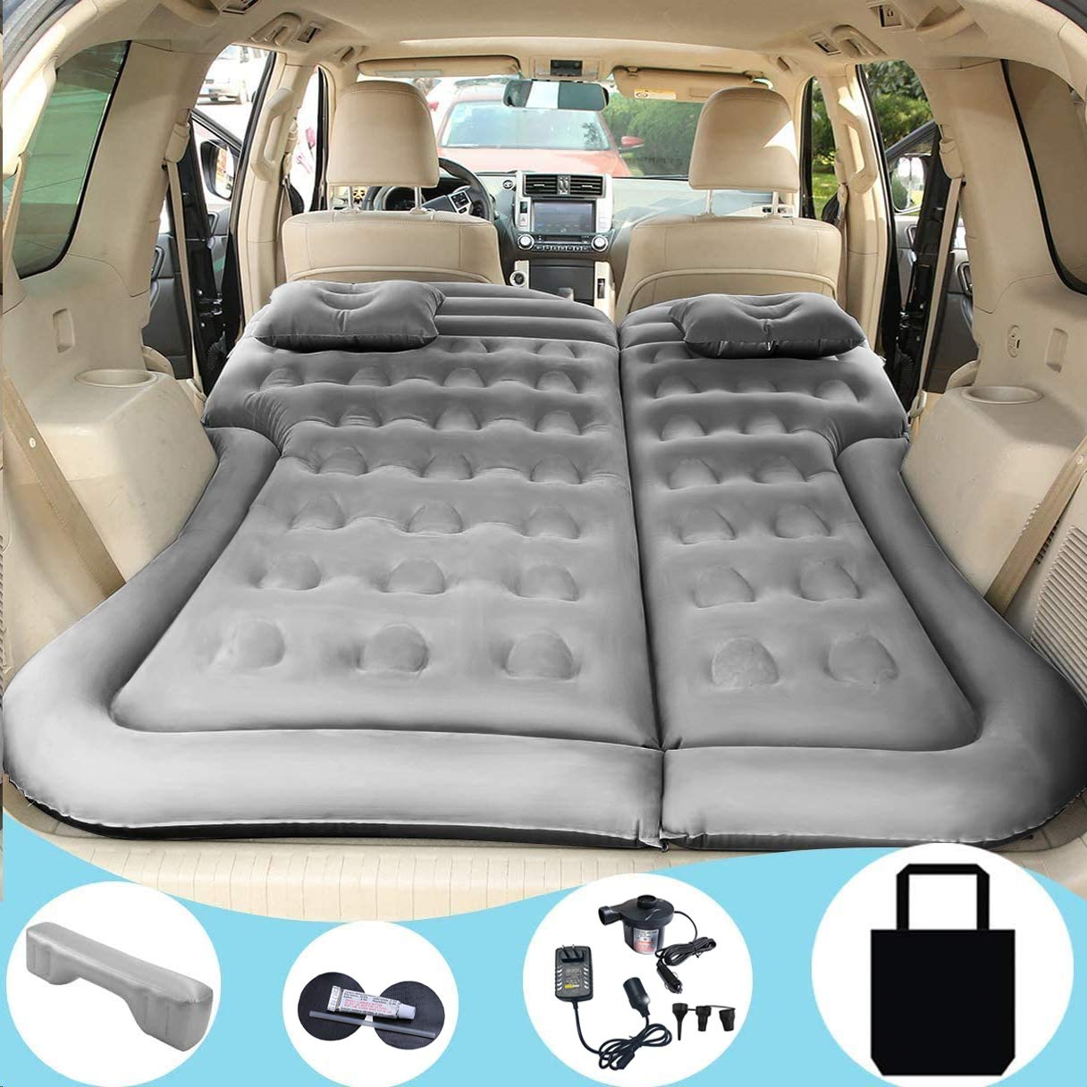 Portable Inflatable Bed Pillow