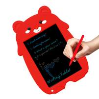 JRD&BS WINL Cute style Colorful Drawing Tablet for Children,Drawing Toys for 4-5 Year Old Girls,Doodle Toys for 6-13 Year Old Boys,Holiday Gifts for Teennager,List Board for Fmaily,Office Memo,Red XDC
