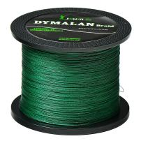 JIMEI Braided Fishing Line by DYMALAN: 4-Strand Line, Abrasion Resistant PE Material for Durability, Zero Stretch & Low Memory, Extra Thin Diameter, Suitable for Saltwater &Freshwater