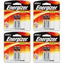 8 Count Energizer Max AAA Batteries - 4 Pack of 2 AAA2 Total of 8 Batteries, The Perfect Choice of Power for All AAA Battery Operated Devices
