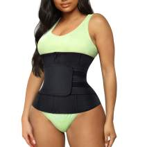 TrainingGirl Women Waist Trainer Cincher Belt Tummy Control Sweat Girdle Workout Slim Belly Band for Weight Loss