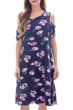 Smallshow Maternity Nursing Breastfeeding Dresses for Women Large SVP030