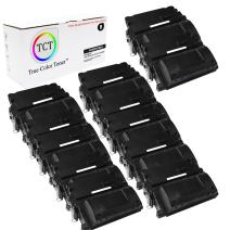 TCT Premium Compatible Toner Cartridge Replacement for HP 81X CF281X Black High Yield Works with HP Laserjet Enterprise MFP M630H M630DN M630F M630Z Printers (25,000 Pages) - 12 Pack