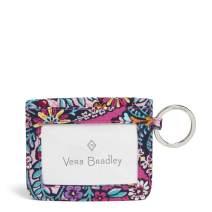 Vera Bradley Women's Signature Cotton Campus Double Id Case Wallet