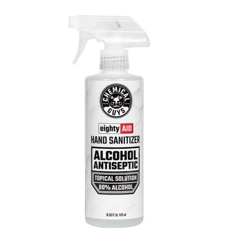 Chemical Guys HYG10016 Alcohol Antiseptic 80% Topical Solution Hand Sanitizer (16 oz), 16. Fluid_Ounces
