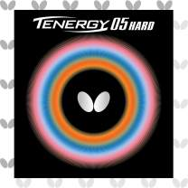 Butterfly Tenergy 05 Hard Table Tennis Rubber Table Tennis Rubber | 1.9 mm or 2.1 mm | Red or Black | 1 Inverted Table Tennis Rubber Sheet | Professional Table Tennis Rubber