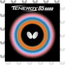 Butterfly Tenergy 05 Hard Table Tennis Rubber Table Tennis Rubber   1.9 mm or 2.1 mm   Red or Black   1 Inverted Table Tennis Rubber Sheet   Professional Table Tennis Rubber