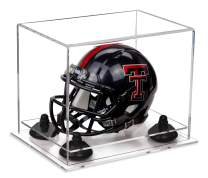 Better Display Cases Acrylic Mini - Miniature Football Helmet (not Full Size) Display Case