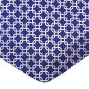 SheetWorld Fitted Portable / Mini Crib Sheet - Purple Links - Made In USA