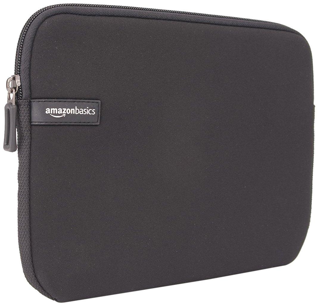AmazonBasics 10-Inch Tablet Sleeve,10-Pack, Black