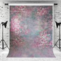 Kate 5x7ft Floral Photography Backdrop Colorful Photo Portrait Background Watercolor Texture Photo Shooting Backdrop