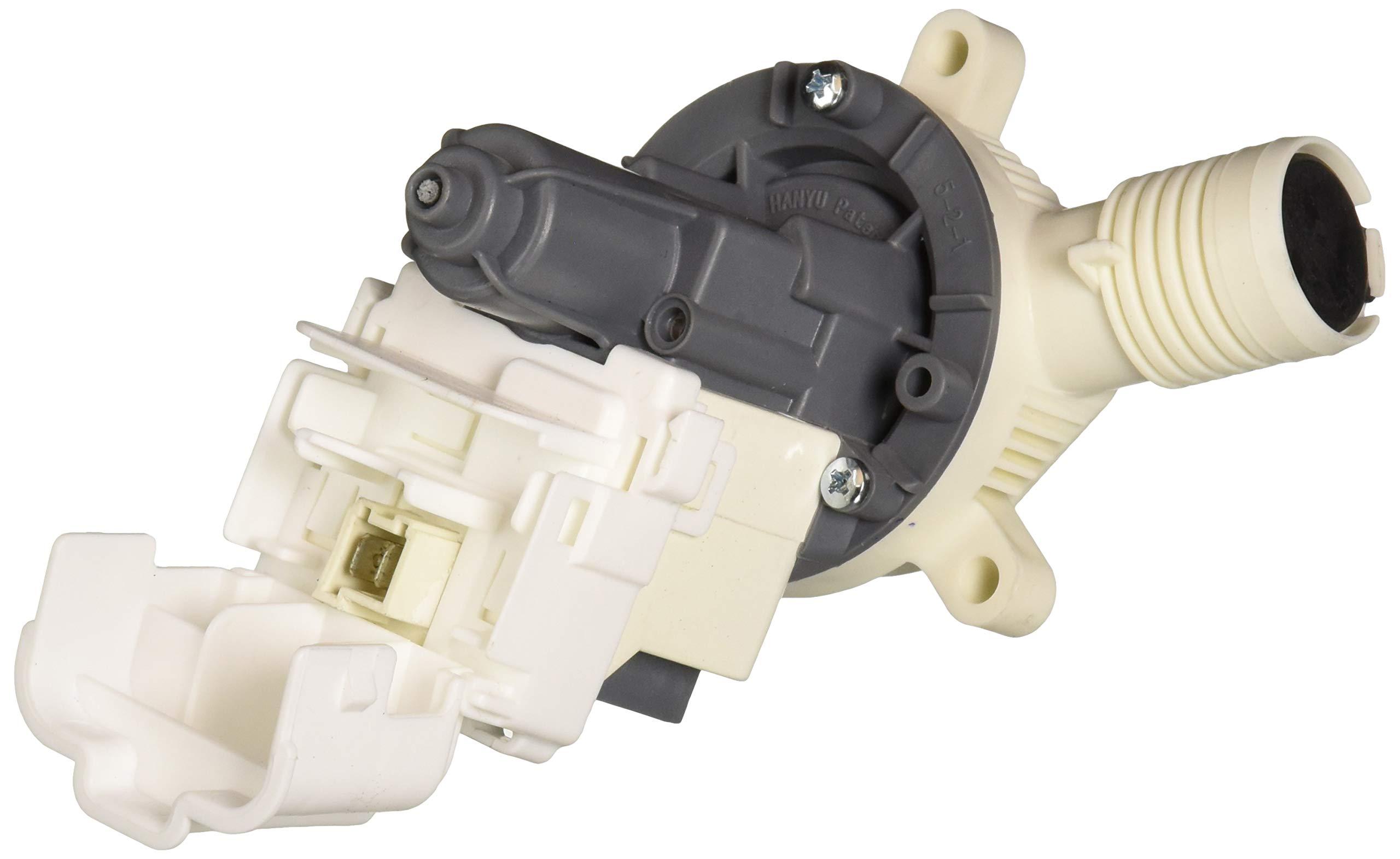 Whirlpool WPW10661045 Drain Pump, White