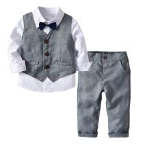 Mornyray Little Baby Boy 3 Pcs Formal Suit Gentleman Outfit Party Wedding Tuxedo