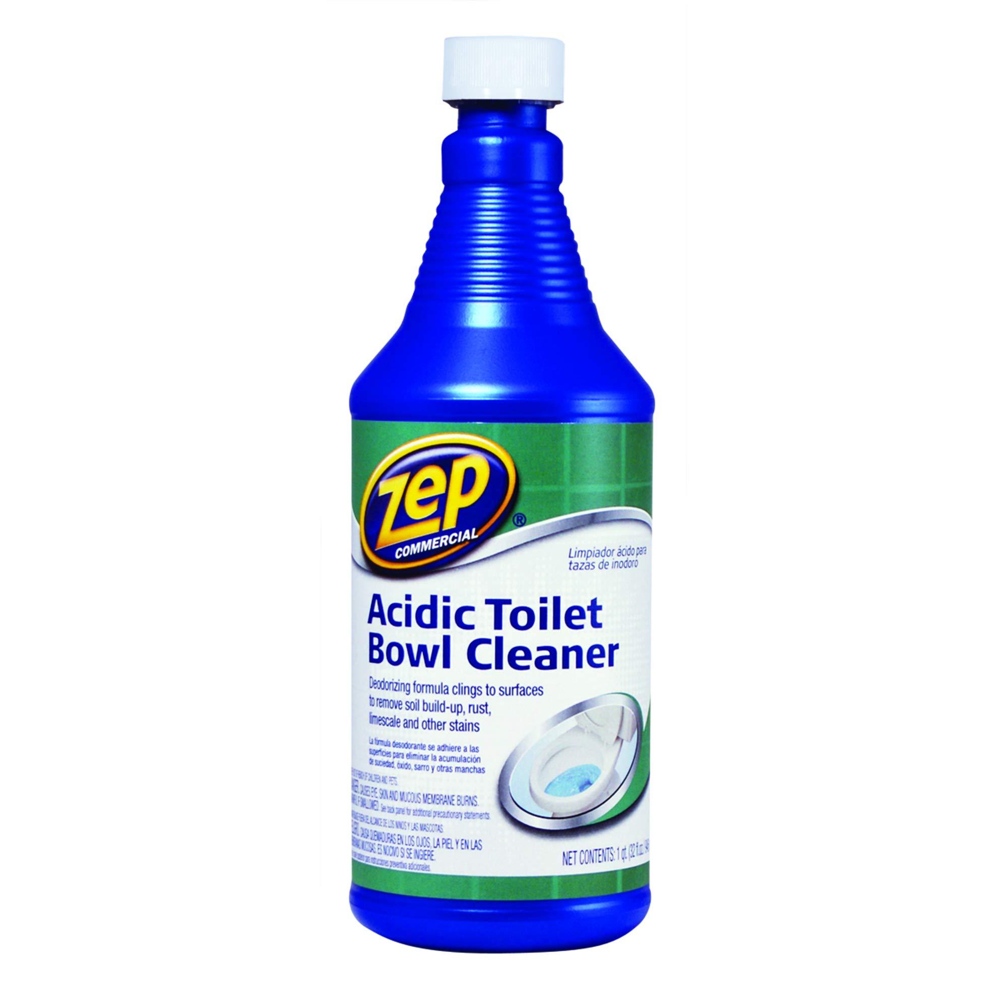 Zep Commercial Acidic Toilet Bowl Cleaner,