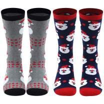 Christmas Holiday Socks, Gmall Unisex Novelty Cartoon Cotton Thick Winter Dress Casual Socks Gift