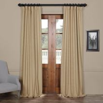 HPD Half Price Drapes BOCH-PL1608-108 Bellino Blackout Room Darkening Curtain (1 Panel), 50 X 108, Ginger