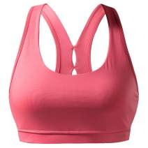 RION Active Women's Sports Workout Bra Medium Impact with Removable Pads