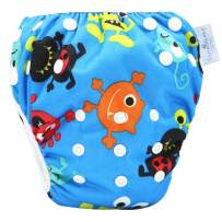 storeofbaby Baby Reusable Swim Diaper Washable Pool Pants Swimwear for 8-36lbs Boys Girls