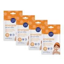 Miss Spa Collagen Energize Gel Eye Mask Set, Awaken and Refresh Dark Circles, Eliminate Eye Puffiness, Anti-Aging, Anti-Wrinkle, Skin Care for Women, 4-Pack