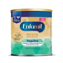 Enfamil Reguline Constipation Baby Formula Milk Powder to Promote Soft Stools, 12.4 ounce -  Omega 3, Probiotics, Iron, Immune Support