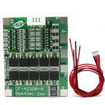 14.8V 4S 30A 18650 Lithium Battery BMS PCB Integrated Circuits Protection Board
