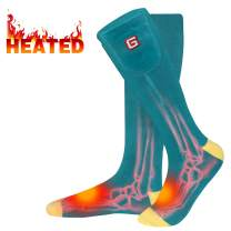 Rabbitroom Heated Socks Women Electric Battery Socks Thermal Insulated Socks for Arthritis, Winter Thick Warm Cotton Sox Heating Foot Warmer, Unisex & USA 6-13 Size