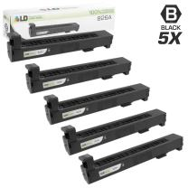 LD Remanufactured Toner Cartridge Replacement for HP 826A CF310A (Black, 5-Pack)