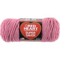 RED HeartSuper Saver Yarn, Light Raspberry
