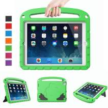 LTROP Kids Case for iPad Mini 1 2 3 4 5 - Light Weight Shock Proof Handle Friendly Convertible Stand Kids Case for iPad Mini, Mini 5 (2019), Mini 4, iPad Mini 3rd Generation, Mini 2 Tablet - Green