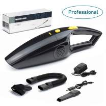 Rechargeable Pet Hair Vacuum Cleaners for Home and Car, Portable Cordless Vacuum Cleaner Strong Suction Handheld and Household Auto Vacuum Cleaner for Deep Cleaning,Wet & Dry (Updated)