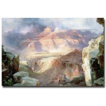 A Miracle of Nature 1913 by Thomas Moran, 22x32-Inch Canvas Wall Art