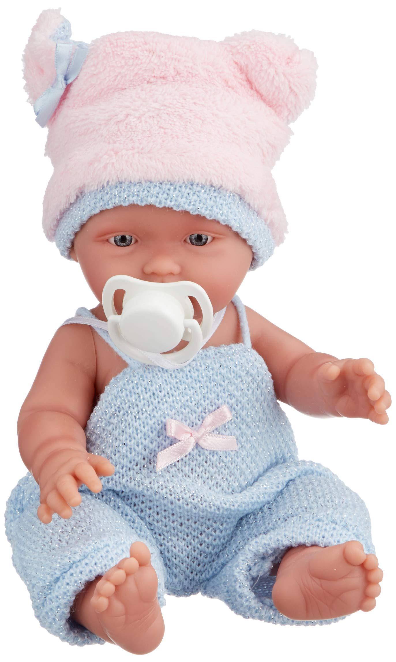 "Llorens 10.2"" Anatomically-Correct Baby Doll Carper, Blue"